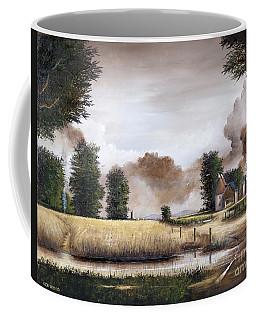 Through The Cornfield Coffee Mug