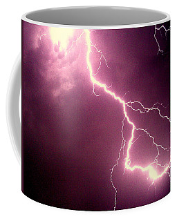 Lightning Coffee Mug by Salman Ravish