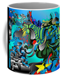 Tides Awry  Coffee Mug by Jason Secor