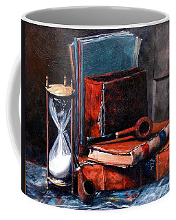 Time And Old Friends Coffee Mug