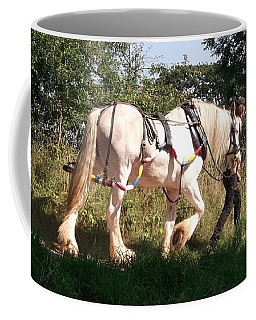 Tiverton Barge Horse Coffee Mug