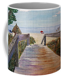 To The Beach Coffee Mug