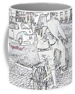 Together Coffee Mug by Rhonda McDougall