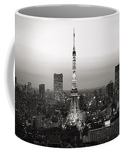 Tokyo Tower At Night Coffee Mug