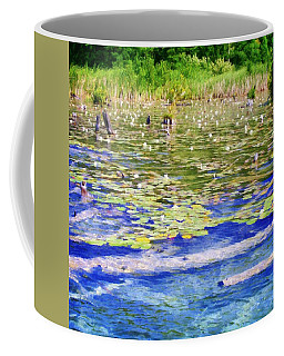 Torch River Water Lilies Coffee Mug