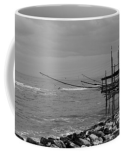 Trabocco On The Coast Of Italy  Coffee Mug