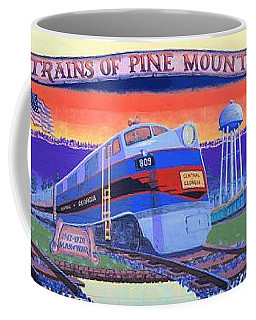 Trains Of Pine Mountain Coffee Mug