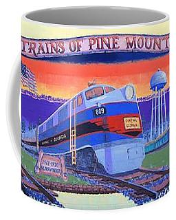 Trains Of Pine Mountain Coffee Mug