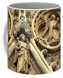 Coffee Mug featuring the photograph Truro Cathedral by Rachel Mirror