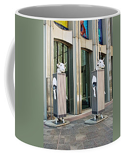 Cow Parade N Y C 2000 - Twin Cowers Coffee Mug