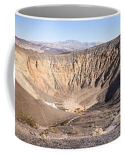 Ubehebe Crater Coffee Mug by Muhie Kanawati