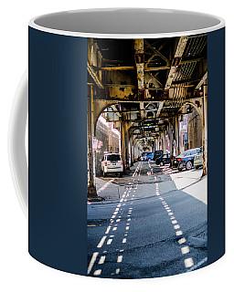 Under The L Tracks Coffee Mug