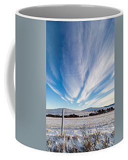 Coffee Mug featuring the photograph Under Wyoming Skies by Michael Chatt