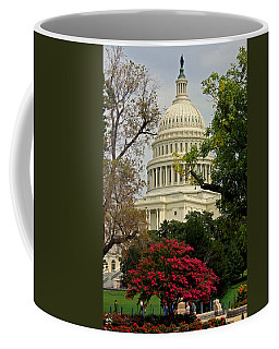 Coffee Mug featuring the photograph United States Capitol by Suzanne Stout