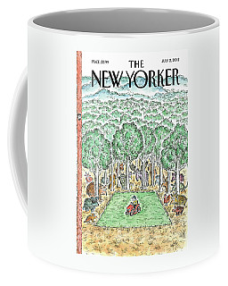 New Yorker July 2nd, 2012 Coffee Mug