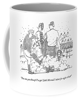 Toss Me, You Chump! I've Got little Mermaid Coffee Mug