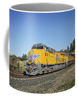 Coffee Mug featuring the photograph Up 8267 by Jim Thompson