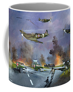 Up For The Chase Coffee Mug