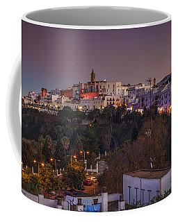 Vejer De La Frontera Panorama Cadiz Spain Coffee Mug by Pablo Avanzini