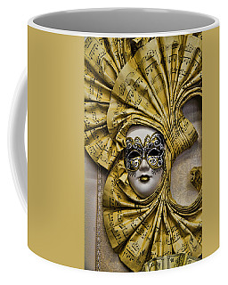 Venetian Carnaval Mask Coffee Mug by David Smith