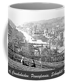 View Of Conshohocken Pennsylvania C 1900 Coffee Mug