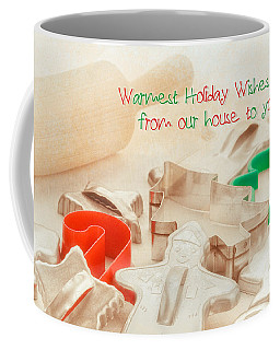 Vintage Christmas Cookie Cutters  Coffee Mug