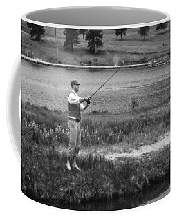 Coffee Mug featuring the photograph Vintage Fly Fishing by Ron White