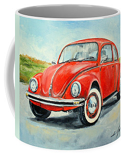 Vw Beetle Coffee Mug