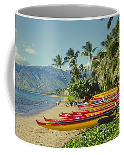 Kenolio Beach Sugar Beach Kihei Maui Hawaii  Coffee Mug