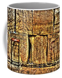 Coffee Mug featuring the photograph Wailing Wall by Doc Braham