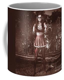 Walking Dead Schoolgirl Stumbling Back To School Coffee Mug