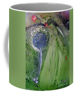 Coffee Mug featuring the painting Water Girl by Laurie Lundquist