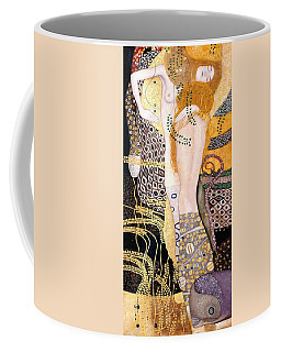 Water Serpents I Coffee Mug by Gustav Klimt