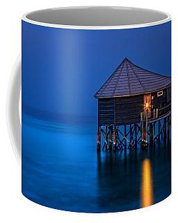 Water Villa In The Maldives Coffee Mug