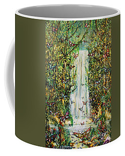 Waterfall Of Prosperity II Coffee Mug