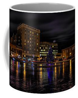 Wausau After Dark At Christmas Coffee Mug