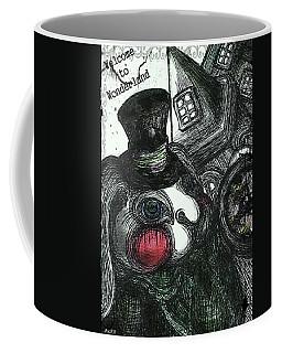 Welcome To Wonderland Coffee Mug by Akiko Okabe