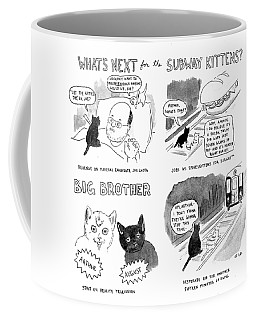 What's Next For The Subway Kittens Coffee Mug