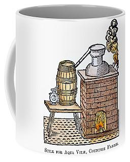 Whiskey Still, 1616 Coffee Mug