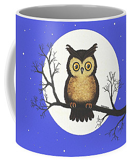 Whooo You Lookin' At Coffee Mug