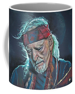 Coffee Mug featuring the pastel Willie by Peter Suhocke
