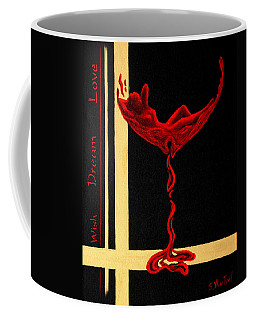 Wine Dream Coffee Mug by Sandi Whetzel