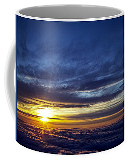 Coffee Mug featuring the photograph Winter Dawn Over New England by Greg Reed