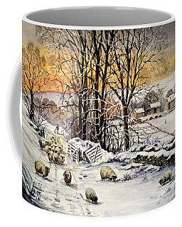Winter In The Ribble Valley  Coffee Mug