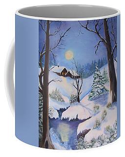 winter Moon Coffee Mug by Catherine Swerediuk