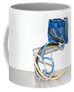 Coffee Mug featuring the photograph Wire Box by Henrik Lehnerer