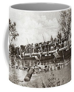 World War I Pontoon Bridge Coffee Mug