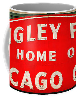 Wrigley Field Sign Coffee Mug