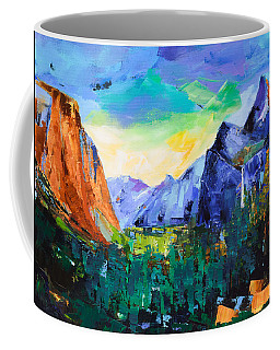 Yosemite Valley - Tunnel View Coffee Mug