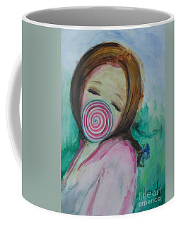 Coffee Mug featuring the painting You're Beautiful by Laurie Lundquist